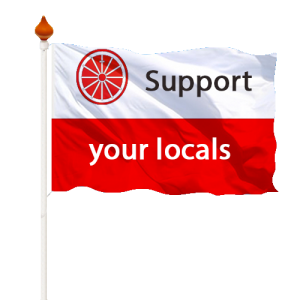 Support your locals Wageningen